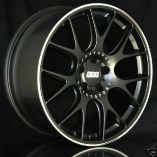 The New BBS CH R Wheel Black (20) BMW E63/64 M6
