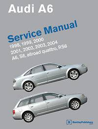Audi A6 S6 RS6 Allroad Bentley Factory Service Repair Manual 1998 2004