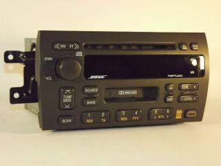 1998 1999 Cadillac Catera AM FM Cassette CD Car Radio Part 09361916
