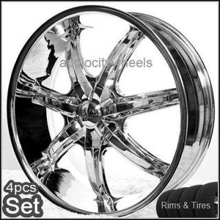 26 inch Rims and Tires Wheels Chevy,Cadillac Escalade