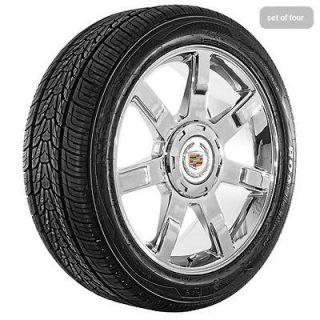 22 inch Cadillac 2010 Escalade Chrome Wheels Rims and Tires