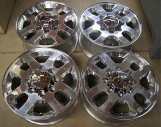 NEW 2011 13 Chevy Silverado HD 2500 3500 8 Lug 18 OEM Factory Wheels