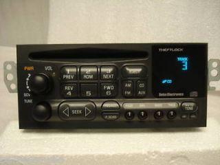 Chevy Blazer Malibu Monte Carlo Radio CD Player (Fits Chevrolet