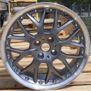 17 17x7 Gunmetal Alloy Wheels Rims for 2003 2011 Mini Cooper   Set