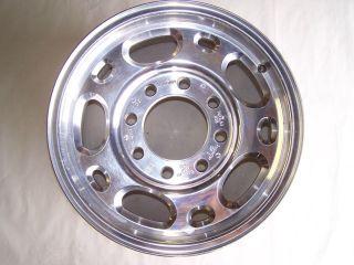 16x 6.5 Wheel, 8 lug Chrome, Chevy Silverado HD2500 3500 Yukon