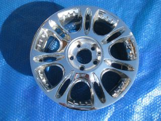 CADILLAC VOGUE CHROME WHEEL 17 USED NICE CONDITION 2003 2004 2005