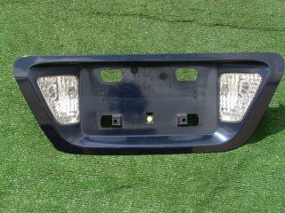 Genuine OEM Factory Honda ACCORD Rear License Plate Panel Trim Bezel