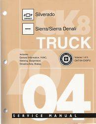 CK Silverado Sierra Factory Service Repair Manual Chevrolet 1500 3500