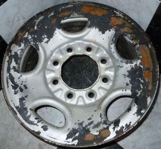Silverado 2500 2500HD 8 Lug 16 FACTORY STEEL OEM Wheel SPARE TRAILER