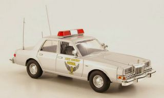 wonderful police modelcar DODGE DIPLOMAT 1985 OHIO STATE HIGHWAY