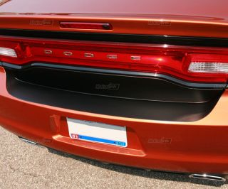 2011 + Dodge Charger Trunk Bunper Vinyl Blackout Decal Graphics