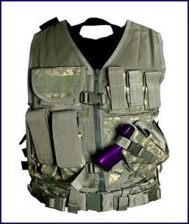 Tactical Vest Police Military Special Forces **DIGITAL CAMO ACU