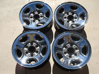 99 06 GMC Sierra Chevy Silverado Denali Safari Chrome Rims Wheels 16