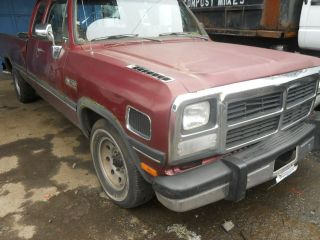 91 92 93 DODGE RAM 250 PICKUP AUTOMATIC TRANSMISSION CUMMINS 4X2