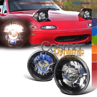 73 80 GMC PICKUP JIMMY 7 ROUND PROJECTOR HEADLIGHT KIT (Fits Porsche