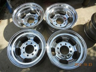 LUG SLOT MAG WHEELS 16.5 x 9.75 CHEVY TRUCK DODGE FORD VAN MAGS