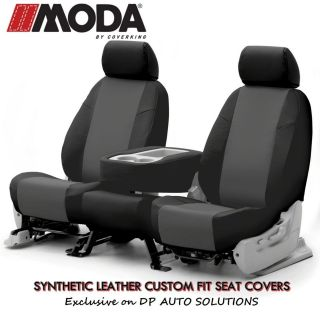 DODGE RAM 3500 COVERKING MODA SYNTHETIC LEATHER CUSTOM FIT SEAT COVERS