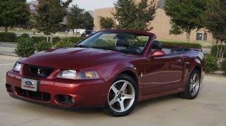 Ford  Mustang SVT Cobra REDUCED SHOW CAR QUALITY RESTORATION NO