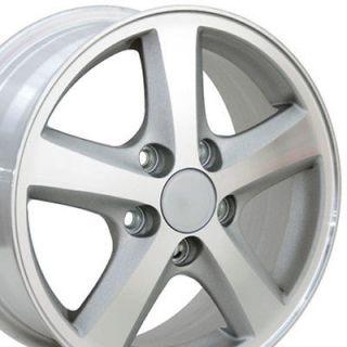 Accord Machined Silver Wheels Set of 4 Rims Fit Honda Civic Hybrid CRV
