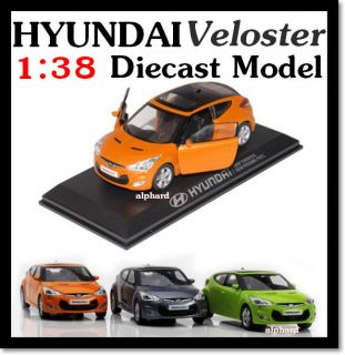 2012+ HYUNDAI Veloster Diecast Model Mini Car 1:38 Toy