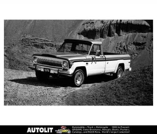 1976 Jeep J 10 Pickup Truck Factory Photo