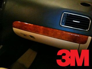 3M DI NOC Bubinga Gloss Wood Grain Wrap Vinyl 12x48