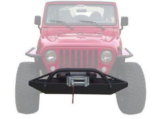 Jeep Wrangler / CJ Front Offroad Winch Bumper, Brush Guard (Fits Jeep