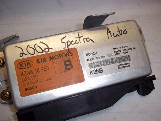 02 KIA SPECTRA 2002 TCM TRANSMISSION CONTROL MODULE A/T K2NB189E0 OEM