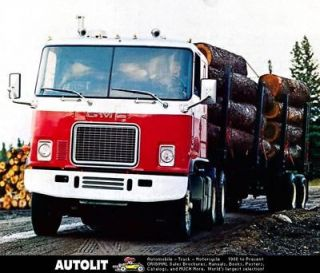 1973 GMC Astro 95 COE Tractor Truck Factory Photo