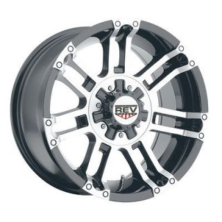 REV Crusher Wheels GMC Chevy Truck 2500 3500 Silverado 8 lug Sierra