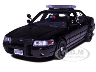 2007 FORD CROWN VICTORIA POLICE CAR BLACK 124