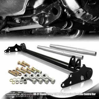 88 89 90 91 Honda Civic/CRX Adjustable Black Suspension Traction