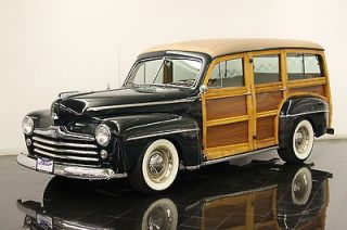 Ford  Other 4 door Hot Rod 1948 Ford Woody Wagon Hot Rod RESTORED