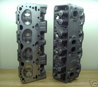 PERFORMANCE 327 350 400 CHEVY CYLINDER HEADS 441 SBC BRONZE GUIDES