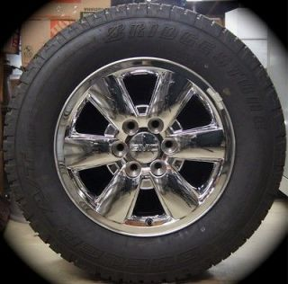 GMC Sierra Yukon Chrome 18 Wheels Rims Tires Chevy Silverado Suburban