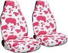 89 1996 Geo tracker cow pink white car seat covers, other items&back
