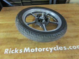 85 86 Honda Shadow VT1100C Front Rear Wheels Rims Tires