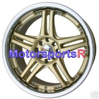 18 XXR 502 Gold rims 09 10 Nissan Cube 06 Toyota Yaris