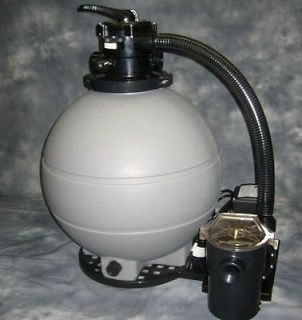 HP Swimming POOL FILTER & PUMP 22 Sand Tank System   Above Ground