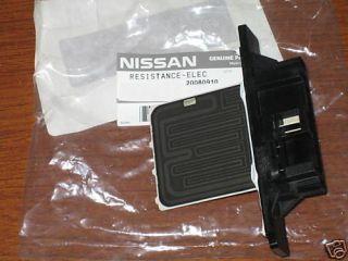 Nissan Sentra Ac/Heater Blower Resistor 1991 1994   NOS