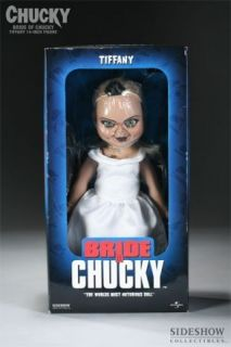 SIDESHOW Tiffany CHUCKY Childs Play DOLL/Statue/FI​GURE/Good Guys SC