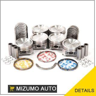 01 05 Suzuki Grand Vitara Chevrolet Tracker 2.5L H25A Pistons Rings