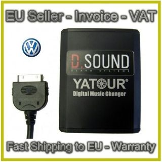 VW iPod iPhone Adapter Adaptor Delta 6 MFD2 MFD 2 Premium 6 7 RCD 300