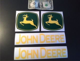 john deere lawn mower decal