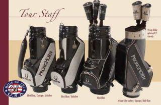 Custom Leather   New Belding Tour Staff Golf Bag 11