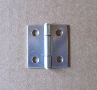 Antique PIE SAFE /Cabinet HINGES, Plain Steel, Reproduction #9