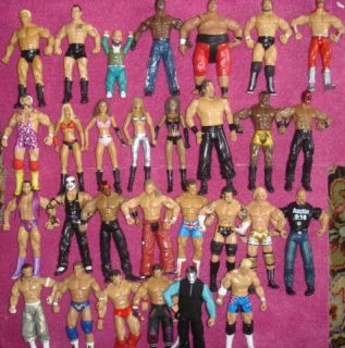 CLASSIC & NEW ACTION TOYS WWE WRESTLING CLASSIC DELUXE FIGURE TNA