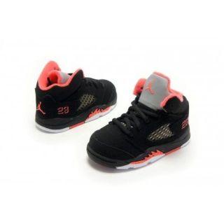 Nike Air Jordan V 5 Baby Girls Toddler Sneakers New Sale Black Pink