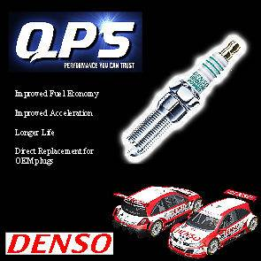VW PASSAT (4) 2.8 VR6 Denso Iridium Power Spark Plug/s 06/´91 06/´95