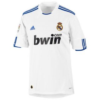 adidas REAL MADRID 2010 2011 HOME SOCCER JERSEY